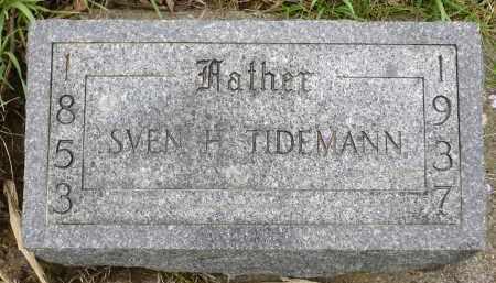TIDEMANN, SVEN H. - Minnehaha County, South Dakota | SVEN H. TIDEMANN - South Dakota Gravestone Photos