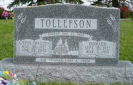 TOLLEFSON, CAROL - Minnehaha County, South Dakota | CAROL TOLLEFSON - South Dakota Gravestone Photos