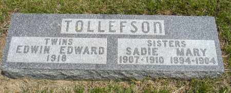 TOLLEFSON, MARY - Minnehaha County, South Dakota | MARY TOLLEFSON - South Dakota Gravestone Photos