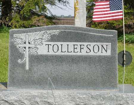 TOLLEFSON, FAMILY MARKER - Minnehaha County, South Dakota   FAMILY MARKER TOLLEFSON - South Dakota Gravestone Photos
