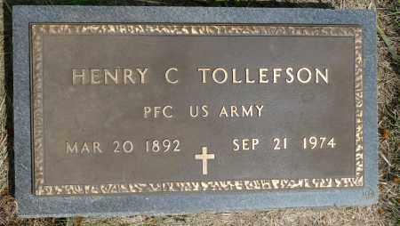 TOLLEFSON, HENRY C. - Minnehaha County, South Dakota | HENRY C. TOLLEFSON - South Dakota Gravestone Photos