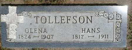 TOLLEFSON, HANS - Minnehaha County, South Dakota | HANS TOLLEFSON - South Dakota Gravestone Photos