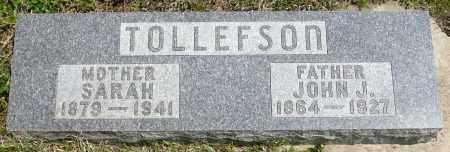 TOLLEFSON, JOHN J. - Minnehaha County, South Dakota | JOHN J. TOLLEFSON - South Dakota Gravestone Photos