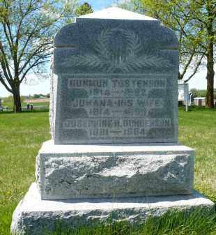 TOSTENSON, GUNMUN - Minnehaha County, South Dakota | GUNMUN TOSTENSON - South Dakota Gravestone Photos