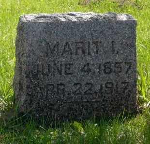 TROBAK, MARIT I. - Minnehaha County, South Dakota | MARIT I. TROBAK - South Dakota Gravestone Photos