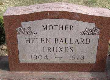 BALLARD TRUXES, HELEN - Minnehaha County, South Dakota | HELEN BALLARD TRUXES - South Dakota Gravestone Photos