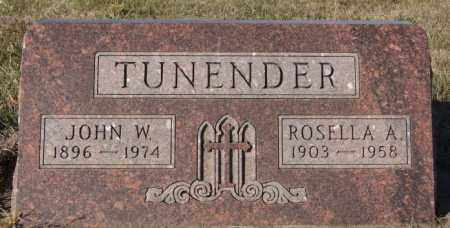 TUNENDER, JOHN M - Minnehaha County, South Dakota | JOHN M TUNENDER - South Dakota Gravestone Photos