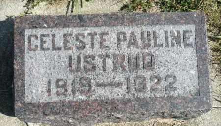 USTRUD, CELESTE PAULINE - Minnehaha County, South Dakota   CELESTE PAULINE USTRUD - South Dakota Gravestone Photos