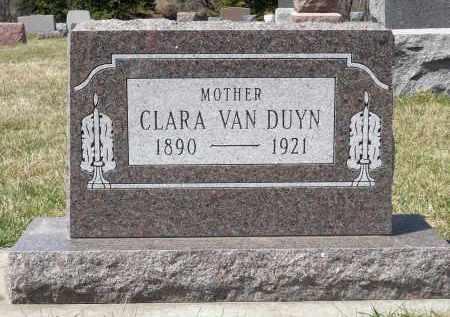 VAN DUYN, CLARA - Minnehaha County, South Dakota | CLARA VAN DUYN - South Dakota Gravestone Photos