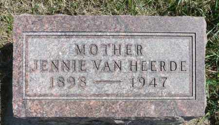 VAN HEERDE, JENNIE - Minnehaha County, South Dakota | JENNIE VAN HEERDE - South Dakota Gravestone Photos