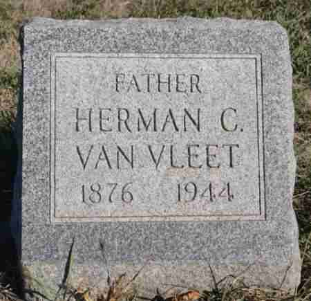 VAN VLEET, HERMAN C - Minnehaha County, South Dakota | HERMAN C VAN VLEET - South Dakota Gravestone Photos