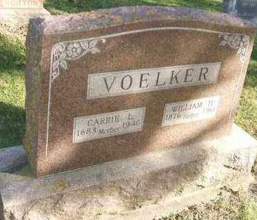 VOELKER, WILLIAM H. - Minnehaha County, South Dakota | WILLIAM H. VOELKER - South Dakota Gravestone Photos