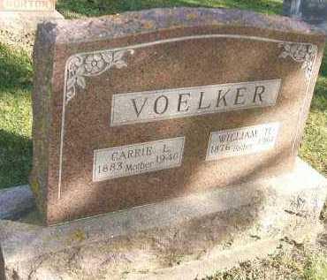 VOELKER, CARRIE L. - Minnehaha County, South Dakota | CARRIE L. VOELKER - South Dakota Gravestone Photos