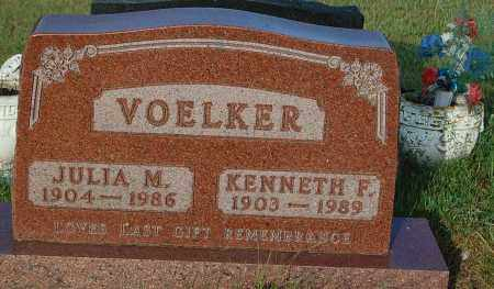 VOELKER, KENNETH F. - Minnehaha County, South Dakota | KENNETH F. VOELKER - South Dakota Gravestone Photos