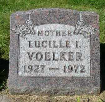 VOELKER, LUCILLE I. - Minnehaha County, South Dakota | LUCILLE I. VOELKER - South Dakota Gravestone Photos