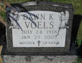 VOELS, DAWN K. - Minnehaha County, South Dakota   DAWN K. VOELS - South Dakota Gravestone Photos