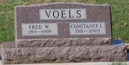 VOELS, FRED W. - Minnehaha County, South Dakota | FRED W. VOELS - South Dakota Gravestone Photos