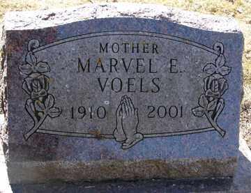 VOELS, MARVEL E. - Minnehaha County, South Dakota | MARVEL E. VOELS - South Dakota Gravestone Photos