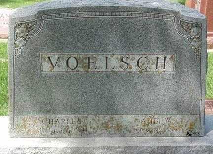 VOELSCH, CHARLES - Minnehaha County, South Dakota   CHARLES VOELSCH - South Dakota Gravestone Photos