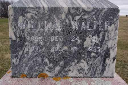 WALTER, WILLIAM - Minnehaha County, South Dakota | WILLIAM WALTER - South Dakota Gravestone Photos