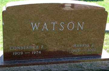 WATSON, HARRIS J. - Minnehaha County, South Dakota | HARRIS J. WATSON - South Dakota Gravestone Photos