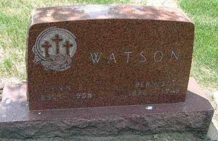 WATSON, LYNN - Minnehaha County, South Dakota | LYNN WATSON - South Dakota Gravestone Photos