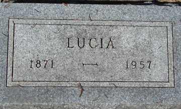 WATSON, LUCIA - Minnehaha County, South Dakota | LUCIA WATSON - South Dakota Gravestone Photos