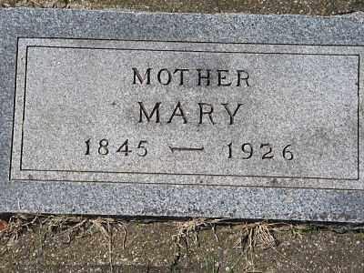WATSON, MARY - Minnehaha County, South Dakota   MARY WATSON - South Dakota Gravestone Photos