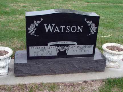 WATSON, TERRANCE LYNN - Minnehaha County, South Dakota   TERRANCE LYNN WATSON - South Dakota Gravestone Photos