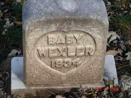WEXLER, BABY - Minnehaha County, South Dakota | BABY WEXLER - South Dakota Gravestone Photos