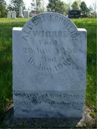 WICKRE, ALBERT KRONELIUS - Minnehaha County, South Dakota | ALBERT KRONELIUS WICKRE - South Dakota Gravestone Photos