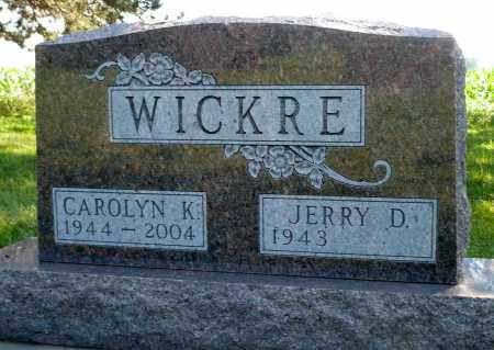 WICKRE, JERRY D. - Minnehaha County, South Dakota | JERRY D. WICKRE - South Dakota Gravestone Photos
