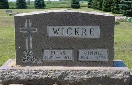 WICKRE, MINNIE - Minnehaha County, South Dakota | MINNIE WICKRE - South Dakota Gravestone Photos