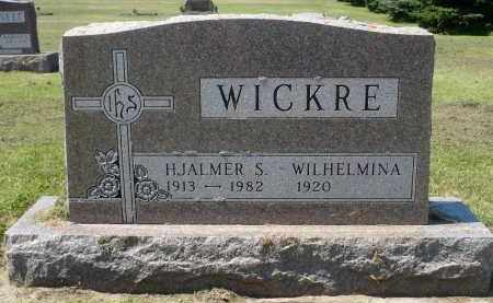WICKRE, WILHELMINA - Minnehaha County, South Dakota | WILHELMINA WICKRE - South Dakota Gravestone Photos