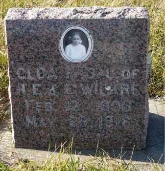 WICKRE, OLGA M. - Minnehaha County, South Dakota | OLGA M. WICKRE - South Dakota Gravestone Photos