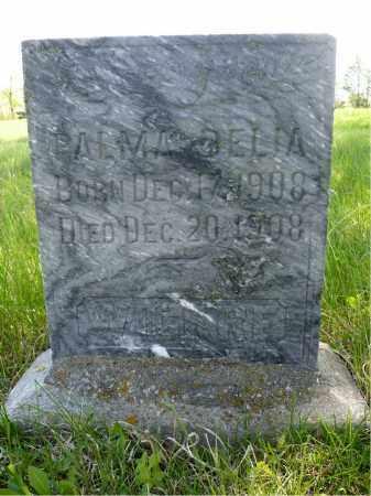 WICKRE, PALMA DELIA - Minnehaha County, South Dakota   PALMA DELIA WICKRE - South Dakota Gravestone Photos