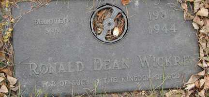 WICKRE, RONALD DEAN - Minnehaha County, South Dakota | RONALD DEAN WICKRE - South Dakota Gravestone Photos