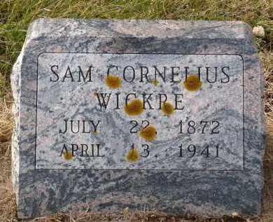 WICKRE, SAM CORNELIUS - Minnehaha County, South Dakota | SAM CORNELIUS WICKRE - South Dakota Gravestone Photos
