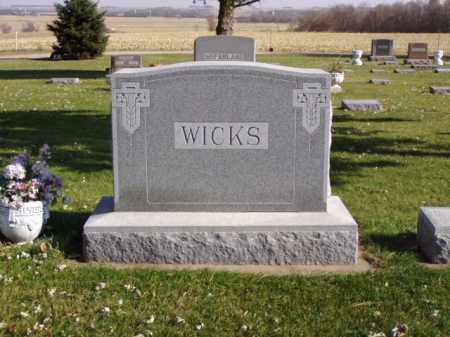WICKS, JENNIE E. - Minnehaha County, South Dakota | JENNIE E. WICKS - South Dakota Gravestone Photos