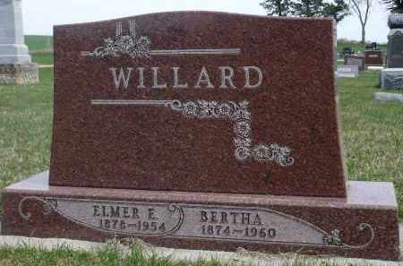 WILLARD, ELMER E. - Minnehaha County, South Dakota | ELMER E. WILLARD - South Dakota Gravestone Photos