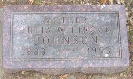 JOHNSON, JULIA - Minnehaha County, South Dakota | JULIA JOHNSON - South Dakota Gravestone Photos