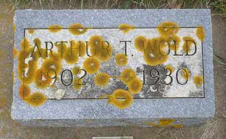 WOLD, ARTHUR T. - Minnehaha County, South Dakota | ARTHUR T. WOLD - South Dakota Gravestone Photos