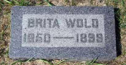 WOLD, BRITA - Minnehaha County, South Dakota | BRITA WOLD - South Dakota Gravestone Photos