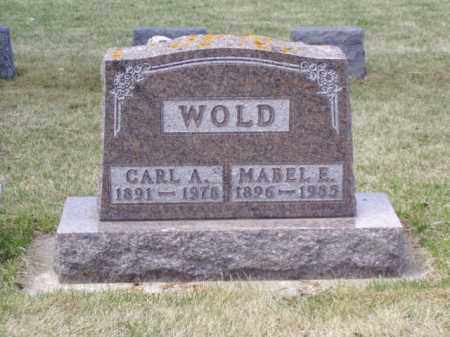 WOLD, CARL A. - Minnehaha County, South Dakota | CARL A. WOLD - South Dakota Gravestone Photos