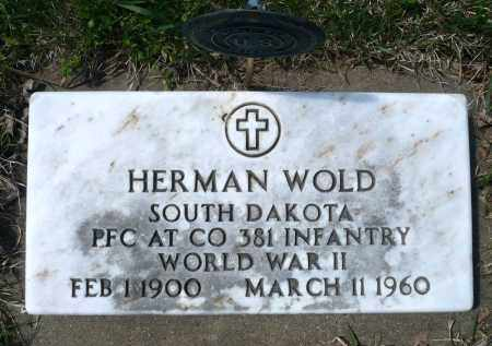 WOLD, HERMAN (WWII) - Minnehaha County, South Dakota | HERMAN (WWII) WOLD - South Dakota Gravestone Photos