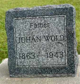 WOLD, JOHAN - Minnehaha County, South Dakota | JOHAN WOLD - South Dakota Gravestone Photos