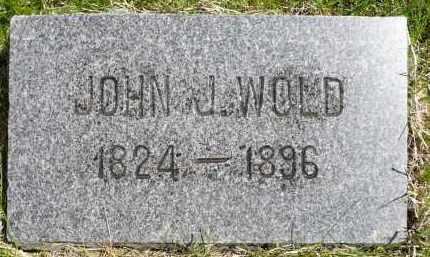 WOLD, JOHN J. - Minnehaha County, South Dakota   JOHN J. WOLD - South Dakota Gravestone Photos