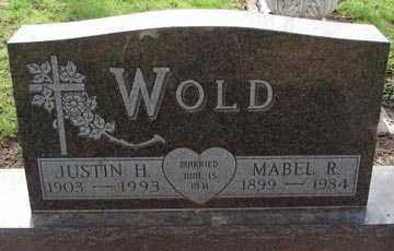 WOLD, JUSTIN H. - Minnehaha County, South Dakota | JUSTIN H. WOLD - South Dakota Gravestone Photos