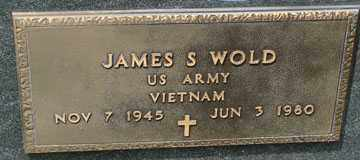 WOLD, JAMES S. (VIETNAM) - Minnehaha County, South Dakota | JAMES S. (VIETNAM) WOLD - South Dakota Gravestone Photos