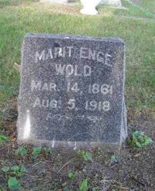 "WOLD, MARIT ""MARY"" ENGE - Minnehaha County, South Dakota 